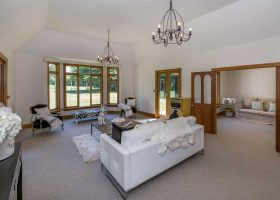 Lounge at Bond Estate Luxury Accommodation in Christchurch NZ